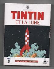 TINTIN ET LA LUNE. Coffret 3 DVD. Citel 2007. Etat neuf