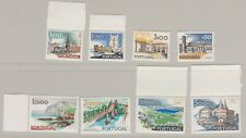 Portugal 1972 - Buildings & Views 8 vals. Mnh as shown
