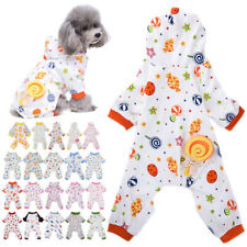 Puppy Pet Dog Cat Gift Pajamas Pyjamas Jumpsuit Casual Cotton Clothes Costumes