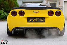 CHEVROLET CORVETTE VETTE C6 Z06 ZR1 REAL CARBON SPLASH GUARDS FENDER WIDENERS