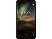 """Móvil - Nokia 6.1, Negro y cobre, 32 GB, 4 GB RAM, 5.5"""", Snapdragon 630,"""