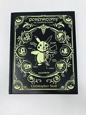 Pokenatomy Unofficial Pokemon Anatomy Guide Book Leather Hardcover
