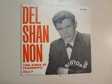 "DEL SHANNON: Two Kinds Of Teardrops-Kelly-Sweden 7"" 1963 Bigtop On Red Vinyl PSL"