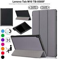 Per Lenovo Tab M10 TB-X505 X605 Pelle Custodia Magnetico Stand Libro Smart Cover