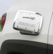 For Jeep Renegade 2015+ ABS Chrome Gas Fuel Tunk Trim Cover