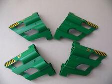 Lego 4 panneaux verts technique set 8246 8141 / 4 lime tehcnic panels