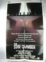 "1983 THE STAR CHAMBER Original Movie Poster 27"" x 41"" Michael Douglas"