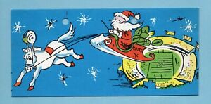 Baltimore Colts 1963 Issued Holiday Card