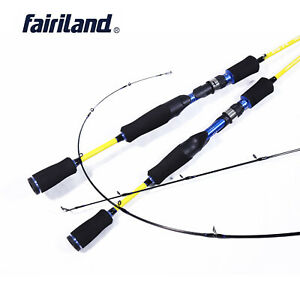 """6'/6'6""""/7' New Casting/Spinning Rod Carbon Fiber Fishing Pole w/ a Spare Tip Top"""