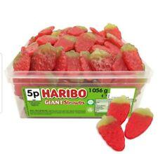 Haribo Giant Strawbs Strawberries Tub Pick 'N Mix Sweets Kids Party birthday