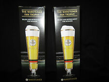 Warsteiner Tulip Glass- Set of 2-  Color Changes -Free Shipping