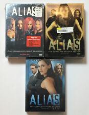 Alias Complete Seasons 1 2 3 Set 1-3 DVD Lot New Sealed