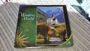 Windows to the World Sanctuary 750 Piece Jigsaw Puzzle Mega New Sealed Free Ship