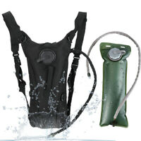 3L Water Bladder Bag Hydration Backpack Pack Outdoor Hiking Camping Cycling