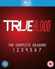 TRUE BLOOD SEASONS 1-7 COMPLETE BLU RAY BOXSET NEW SERIES 1 2 3 4 5 6 7