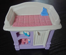 Fisher Price Dollhouse Furniture Loving Family Nursery Baby Changing Table
