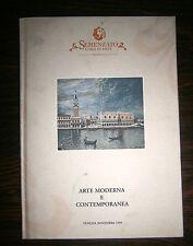 Semenzato Casa D'Aste # ARTE MODERNA E CONTEMPORANEA # Venezia 1999