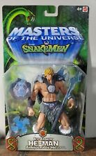 MASTERS OF THE UNIVERSE VS SNAKEMEN ICE ARMOR HE-MAN 200X MATTEL MOTU