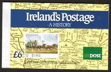 IRELAND 1990 IRELAND'S POSTAGE A HISTORY £6.00 BOOKLET SB35