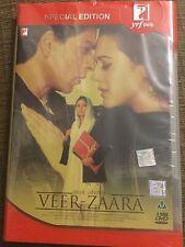Veer zaara  Bollywood Dvd * shahrukh Khan purity zinta Runi mukhrajie