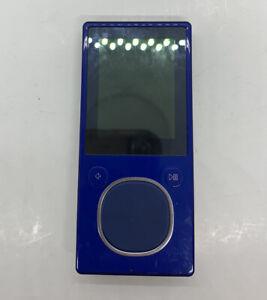 Microsoft Zune - Model 1125 - 8 GB Blue Digital Media MP3 Player / NEEDS BATTERY