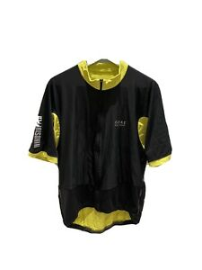 GORE BIKE WEAR WINDSTOPPER JERSEY Top Men's Short Sleeve - Size XXL