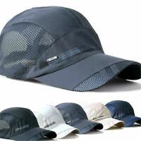 Outdoor Visor Quick-drying Cap Sports Baseball Caps Mesh Breathable Summer Hats