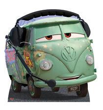 Filmore Pixar Cars TAILLE RÉELLE EN CARTON DÉCOUPE DEBOUT hippie bus VW caravane