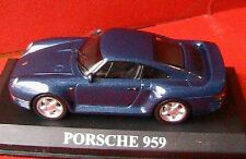 PORSCHE 959 COUPE BLEU IXO ALTAYA 1/43 BLUE GERMANY BLAU