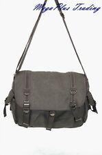 Ahmik Casual Canvas Cross Body Shoulder Messenger Bag B3059 Brown