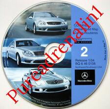 2001 MERCEDES BENZ S S430 S500 S55 S600 NAVIGATION DISC CD AZ CO ID MT OR WY UT