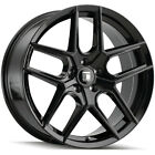 4-Touren TR79 18x8 5x112 +35mm Gloss Black Wheels Rims 18