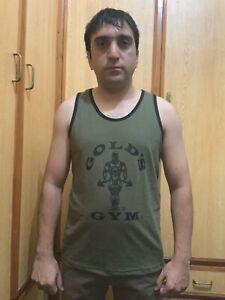 Tank top Vest  Gold Gym stringer tank top