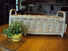 Palecek Wicker Flower Basket