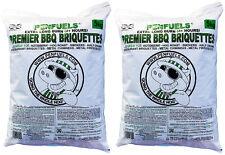 Premier BBQ Briquettes Crazy Offer 2x5kg bags = 10kg @£17.99 Delivered