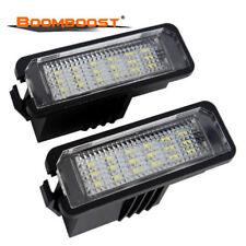 2x Vauxhall Insignia Standard Halogen Neolux Rear Number Plate Light Bulbs