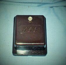 Vintage G.E.C. Bakelite Door Buzzer 8 - 12volt - Adjustable Volume