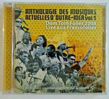 DOM TOM aux FRANCOFOLIES 2008 ♦ CD NEUF ♦ MUSIQUES D'OUTRE-MER ACTUELLE