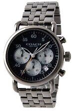 Coach 14602138 Delancey Gunmetal Black Chronograph Mens Watch