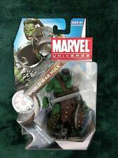"Marvel Universe 3.75"" World War Hulk. 2010, Series 3, #003. New in packaging."