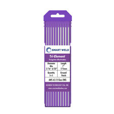 Purple TIG Welding Tungsten Electrode Assorted 10 pack (1/16