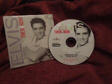 Elvis Then & Now RARE USA CD Single
