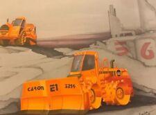 CCM Caterpillar CAT Tractor Model Original Artwork Signed 1993 E1 3214