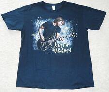 Keith Urban Concert T Shirt Short Sleeve L Summer 2010 Tour