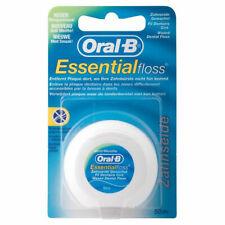 Oral-B Essential Mint Waxed Dental Floss - 50m