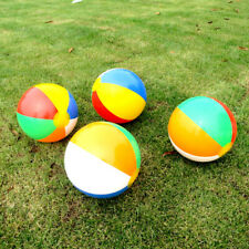 12 Pcs 33CM Inflatable Colorful Beach Ball Summer Water Entertaining Ball Pool T