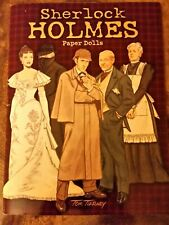 Sherlock Holmes Paper Dolls by Tom Tierney * 2009 Dover Paper Dolls