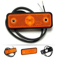 LED Umrissleuchte GELB 24V 12V Begrenzungsleuchte Positionsleuchte 12/24V ft-004