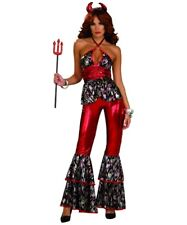 WAVY DISCO DEVIL DIVA ADULT HALLOWEEN COSTUME WOMEN STANDARD ONE SIZE