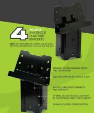 HME Products ELEV-4PK Blind Post Heavy Duty Platform Brackets New